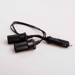 Car Cigarette Lighter Socket Plug Auto Extension Power Supply Cord Cable Charger