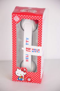 Native Union Pop Phone Hello Kitty Retro Phone Headset Cell Phone or PC White