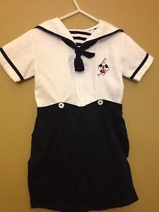 Cute Baby Boys Carriage Boutiques Sailor 24 Months Clothes Outfit