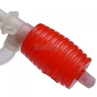 Portable Manual Hand Siphon Pump Hose Water Gas Oil Fuel Liquid Transfer Pump