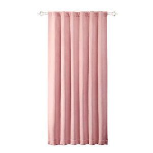 New Naptime Window Curtain Panel Light Pink Baby Girl Childrens Bedroom 50x84