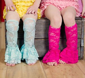 New Co Orful Baby Girl Lace Leg Warmers Tights Toddler Summer Leggings Socks