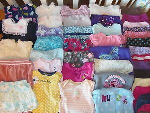 Huge 43pc Baby Girl Fall Winter Clothes Lot 6 9 9 12 Months