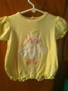 Unisex Yellow Onesie 6 9 Months Baby Boy or Girl Clothes Sesame Street w Duck
