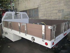 Dually Truck Bed 12x8 Winch Tool Boxes Fifth Wheel RAM 3500 Chevy 3500 Ford F450