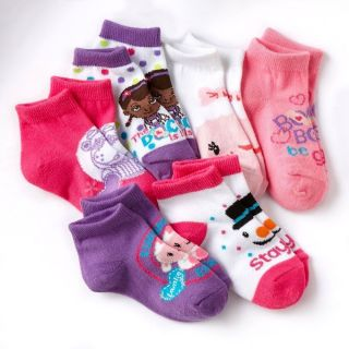 New Girl 6 PC Disney Doc McStuffins Socks Toddler Size 2T 4T Great Gift