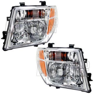 New Pair Set Headlight Headlamp SAE Dot Nissan Frontier Pathfinder Truck SUV