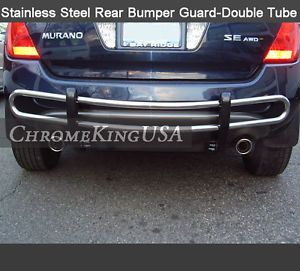 2003 2008 Nissan Murano Stainless Steel Rear Bumper Guard Double Tube