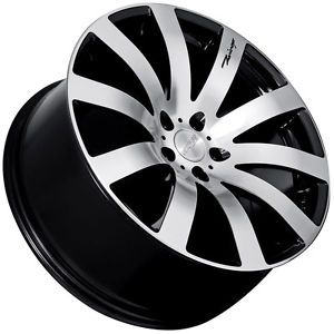 "19"" MRR HR4 Style Black Wheels Rims Fit Nissan 350Z 370Z Altima Maxima Murano"