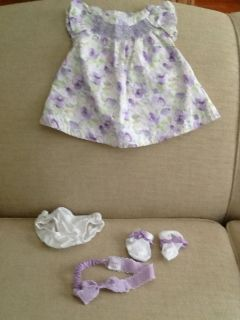 Gymboree Baby Girls Dress Size 0 3 Months Easter Holiday Dressy