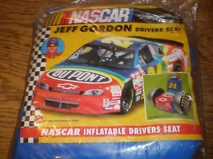 Jeff Gordon NASCAR 24 Inflatable Blow Up Chair Jeff Gorgon Drivers Seat 1998 New