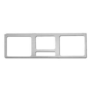 Ford F 150 80 87 Brushed Aluminum Custom Speedometer Dash Gauge Bezel Trim Kit