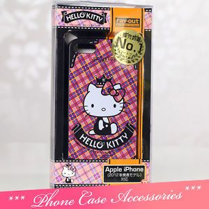P06 Cute Hello Kitty Cell Phone Case Cover for iPhone 5