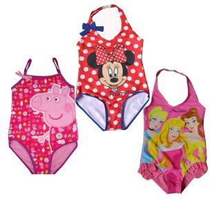 Girls Kids Peppa Pig Swimsuit 1 8Y Tankini Bikini Swimwear Swimming Cute Clothes