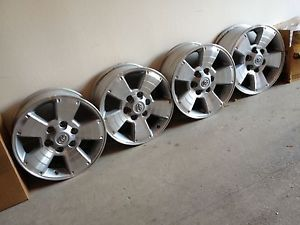 "17"" Toyota Tacoma 4Runner Factory Stock Alloy Wheels Rims FJ Cruiser 08 09"