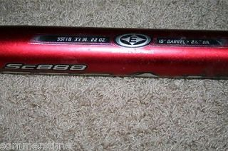 Easton Stealth Fastpitch II Softball Bat 33 22 SC888 Very RARE High Performance