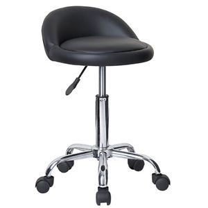 Rolling Adjustable Swivel Stool Bar Table Chair w Wheels Massage Tattoo Juno