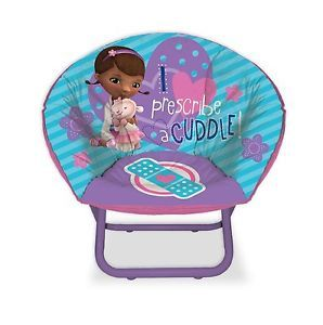 Disney Doc McStuffins Kids Chair Saucer Chair Toddler