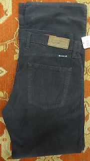 Lucky Brand 361 Vintage Straight Corduroys Pants Men 32 x 32 Black 7MC1011