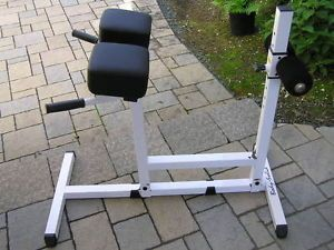 Body Solid Heavy Duty Roman Chair Back Hyperextension Abdominal AB Bench GRCH22