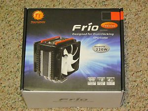 Thermaltake Frio Overclocking CPU Cooler Good Up to 220 Watt TDP Dual Fans