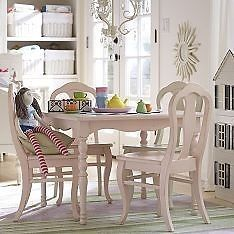 New Pottery Barn Kids Olivia Chairs 2 in A Set