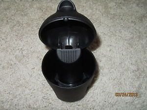 Mini Cooper Ashtray with Fold Down Lid Fits Cup Holder 2007 2008 2009 2010