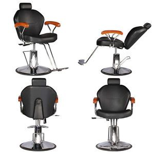 4 Salon Reclining Hydraulic Styling Barber Chair MP 80