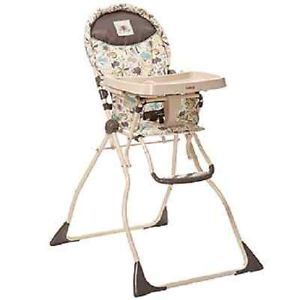 Cosco Slim Fold High Chair Super Safari HC183BSO NIB