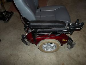 Invacare Pronto M91 Heavy Duty Power Chair Red Parts