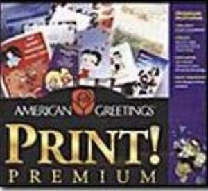 American Greetings Print Premium PC CD Make Custom Personalized Crafts Cards