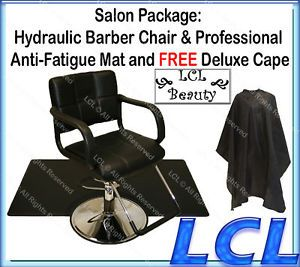 Hydraulic Barber Chair Styling Hair Mat Salon Equipment