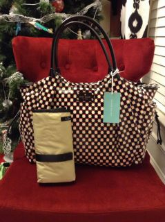 New Kate Spade Dundee Drive Stevie Baby Bag Retail $398 00
