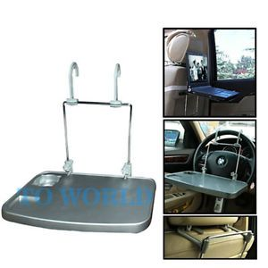 Portable Adjustable Car Laptop Tray Desk Table Stand Steering Wheel Mount