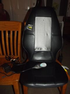 Homedics SBM 200 Shiatsu Back Massage Chair Cushion Massage Therapist Select