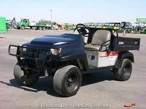 2008 Bobcat 2100 UTV Off Road Utility Vehicle Cart Gas Electric Dump Bed Bidadoo