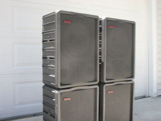 Ramsa PA DJ WS A500 WS A550 Speaker System Local Pickup Only Cleveland Ohio
