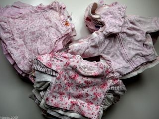 Baby Girl Dress Cardigan Vest Sleepsuit Mix Match 0 3 6 9 12 24 Months