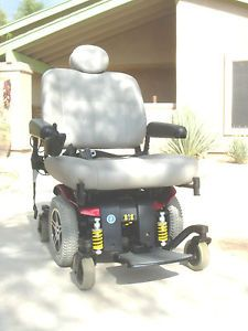 Pride Jazzy Heavy Duty Barriatric Chair with New Batteries and
