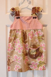 Swanky Baby Vintage Boutique Ruffle Sleeve Dress Easter Girls 5