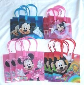 48 Pieces Disney Mickey Minnie Goody Gift Bag Party Favors Supply Wholesale O