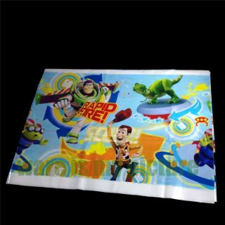 Disney Toy Story 3 Buzz Woody Birthday Party Supply Plastic Table Cover S1201
