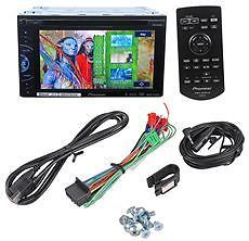 "Pioneer AVH X2500BT 6 1"" Double DIN Car DVD USB Player Receiver Bluetooth iPod"