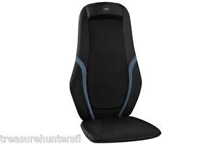 Customizable Shiatsu Back Massager Chair Seat Work Desk Cushion Pain Control New