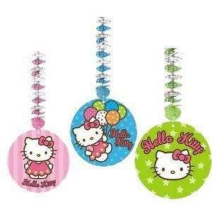 Hello Kitty Birthday Party Supplies Hanging Dangling Cutouts Decorations