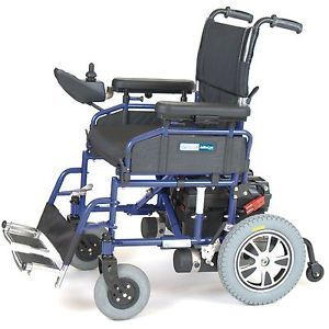 Wildcat Heavy Duty Lightweight Folding Power Chair Electric Wheelchair 300lb Cap