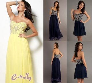 New Strapless Long Bridesmaid's Dresses Formal Eveing Dress Prom Party Gowns