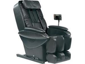 Black Panasonic EP30005KU Real Pro Ultra Leather Massage Chair w Arm Massage