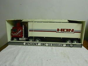 Nylint Pressed Steel HON Office Furniture Semi Tractor Trailer Truck