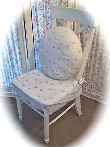 Custom Rachel Ashwell Simply Shabby Chic British Rose Chair Slipcovers Set of 4